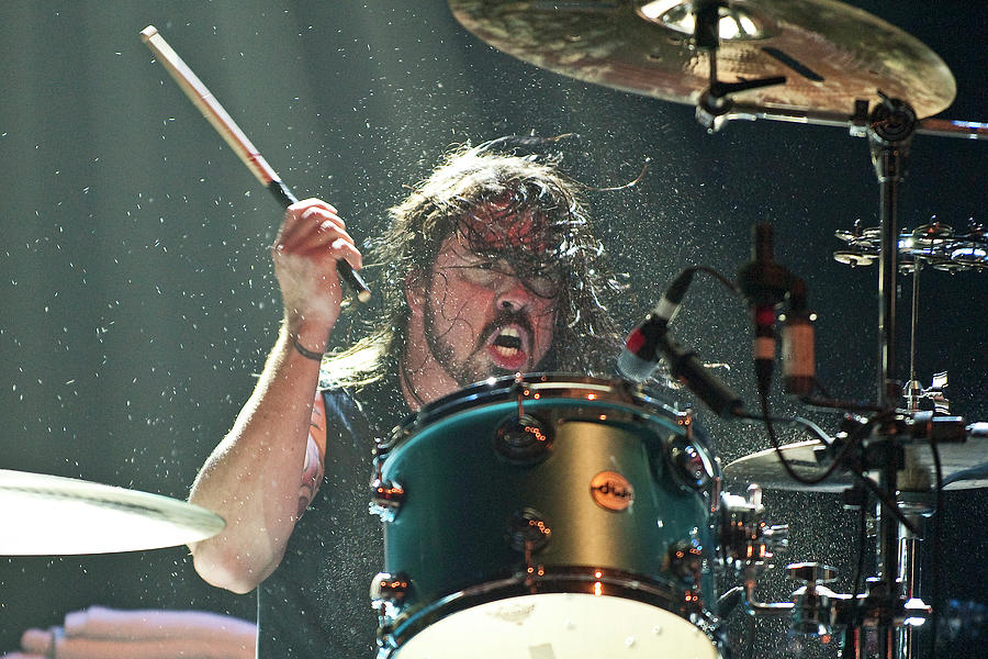 Them Crooked Vultures Perform At Photograph by Neil Lupin