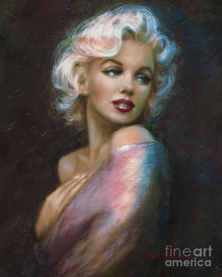Theo's Marilyn WW Blue by Theo Danella