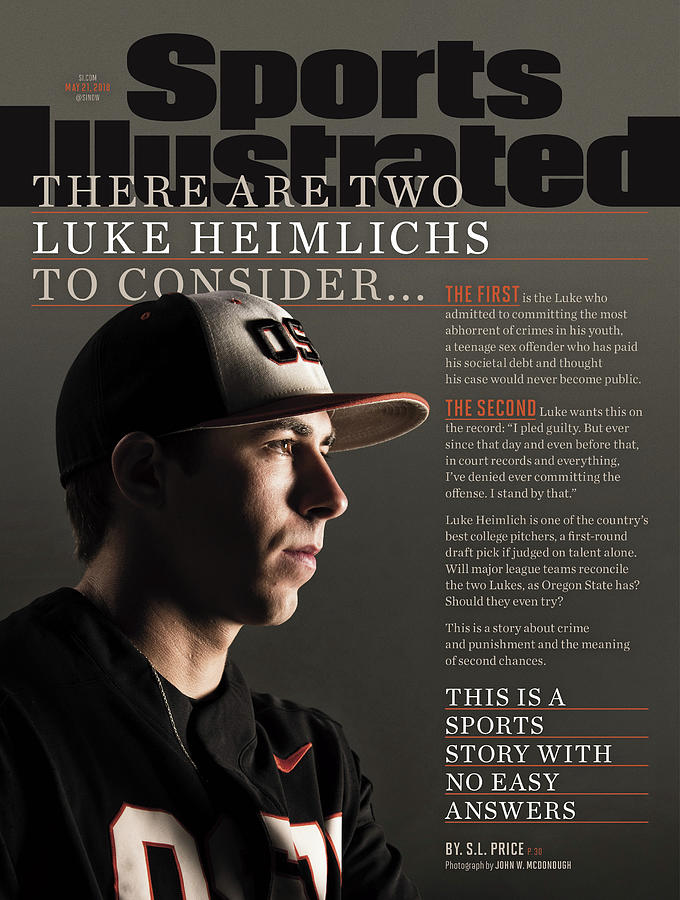 There Are Two Luke Heimlichs To Consider... Sports Illustrated Cover Photograph by Sports Illustrated