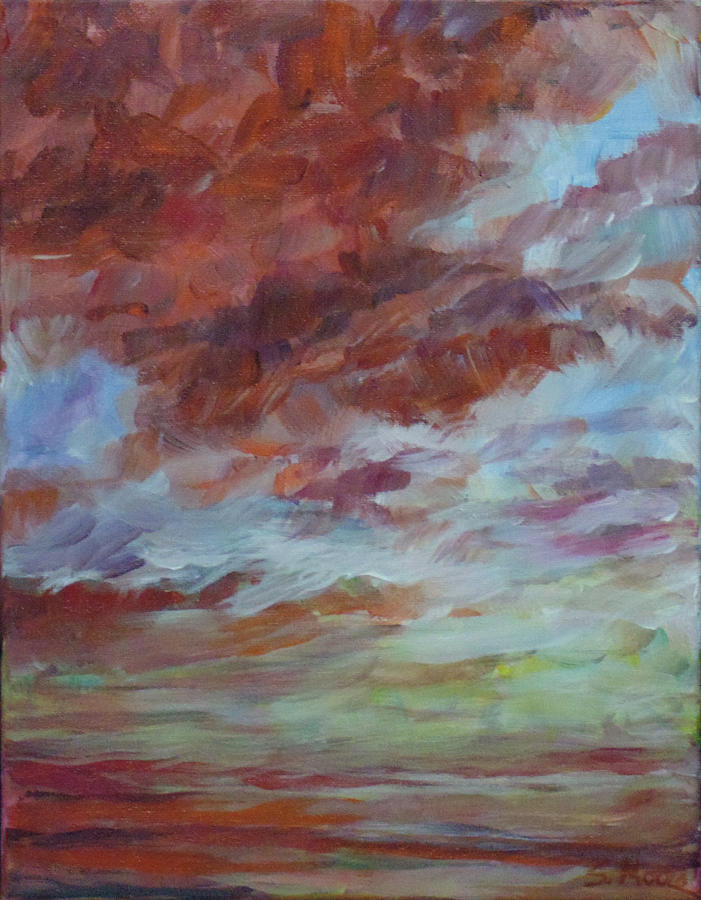 Impressionist Painting - There is Always Tomorrow by Susan Moore