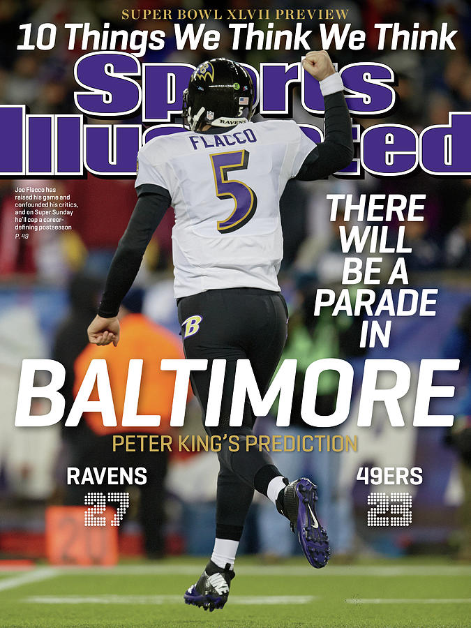 There Will Be A Parade In Baltimore Super Bowl Xlvii Sports Illustrated Cover Photograph by Sports Illustrated