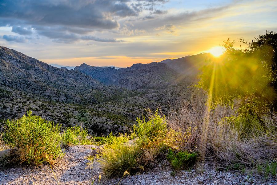 Thimble Peak Vista Sun, Tucson, Arizona by Chance Kafka