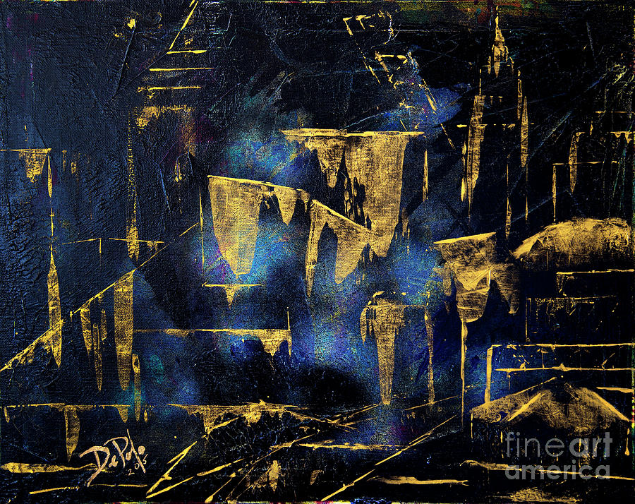 Cleveland Ohio Painting - Think Cle by JoAnn DePolo