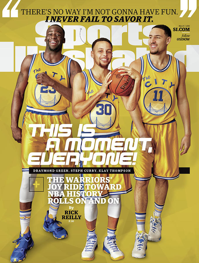 This Is A Moment, Everyone The Warriors Joy Ride Toward Nba Sports Illustrated Cover Photograph by Sports Illustrated
