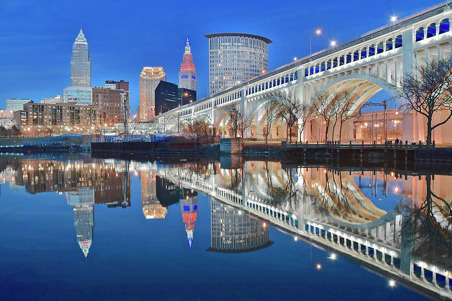 Cleveland Photograph - This Is Cleveland II by Frozen in Time Fine Art Photography
