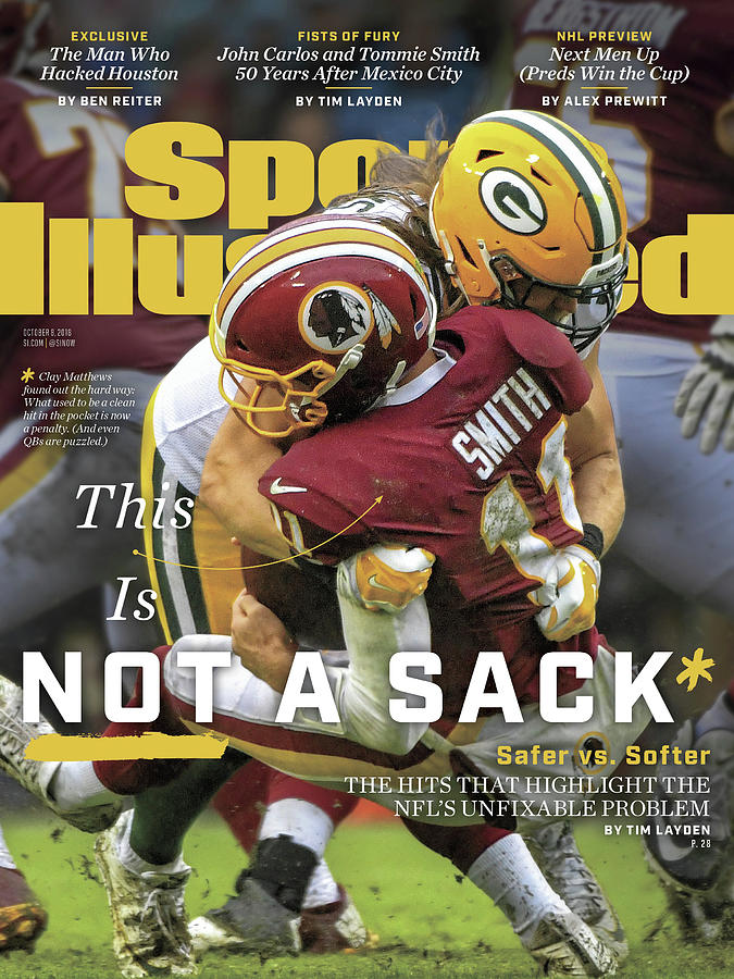 This Is Not A Sack Safer Vs Softer Sports Illustrated Cover Photograph by Sports Illustrated