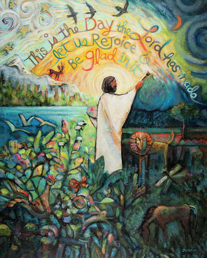This Is The Day Painting - This Is The Day The Lord Has Made by Jen Norton