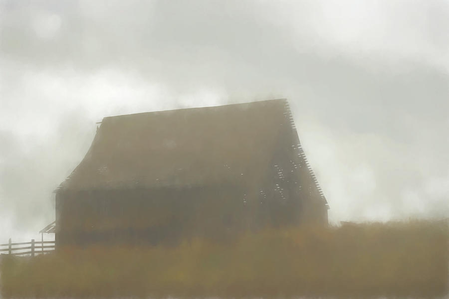 This Old Barn 3 by Cathy Anderson