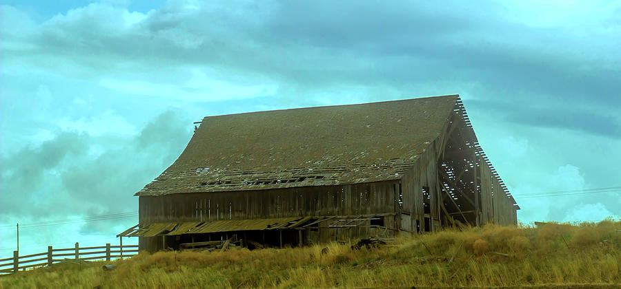 This old barn by Cathy Anderson