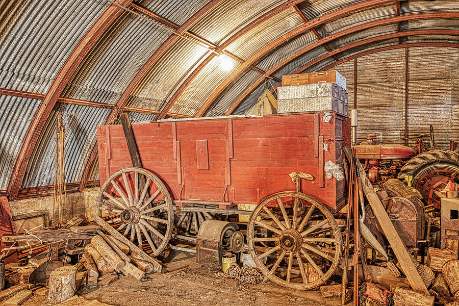 Sheds Photograph - This Old Shed Held A Surprise by Jim Thompson