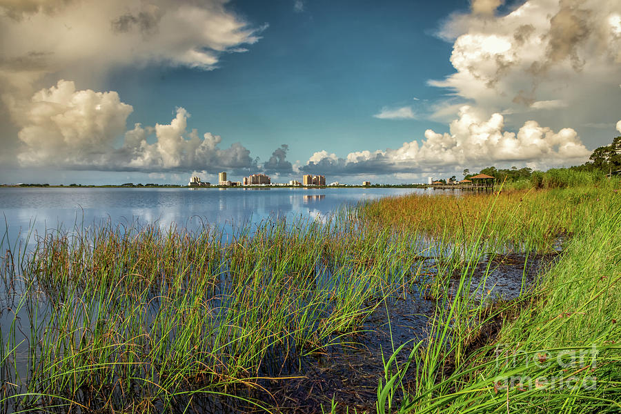 This Side of Lake Shelby-Gulf Shores, AL by Kathleen K Parker