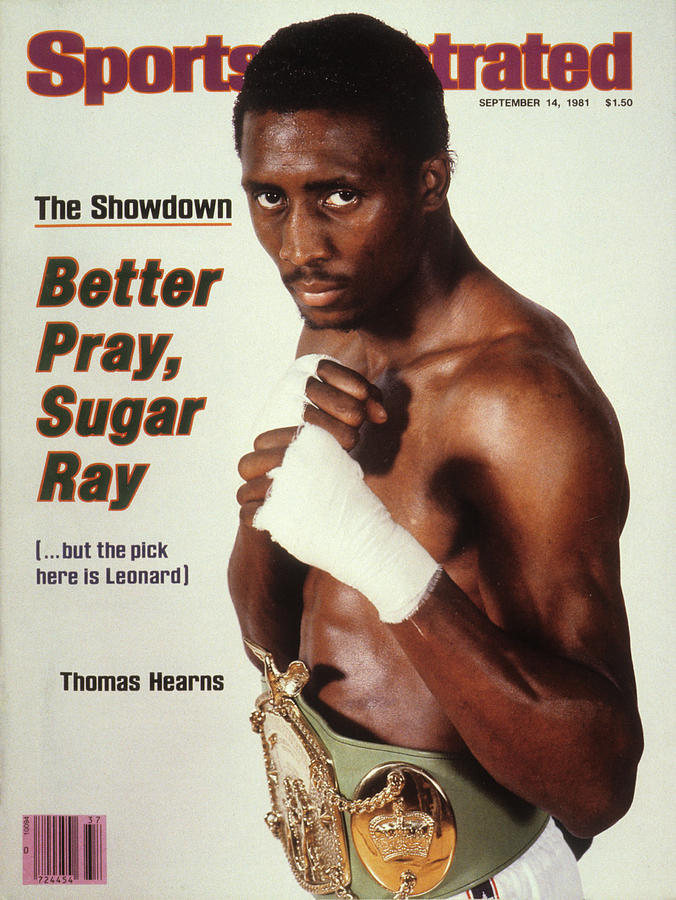 Thomas Hearns, Welterweight Boxing Sports Illustrated Cover Photograph by Sports Illustrated
