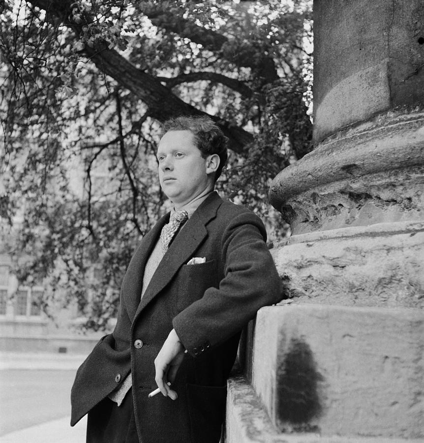 Thomas Leaning Photograph by Francis Reiss