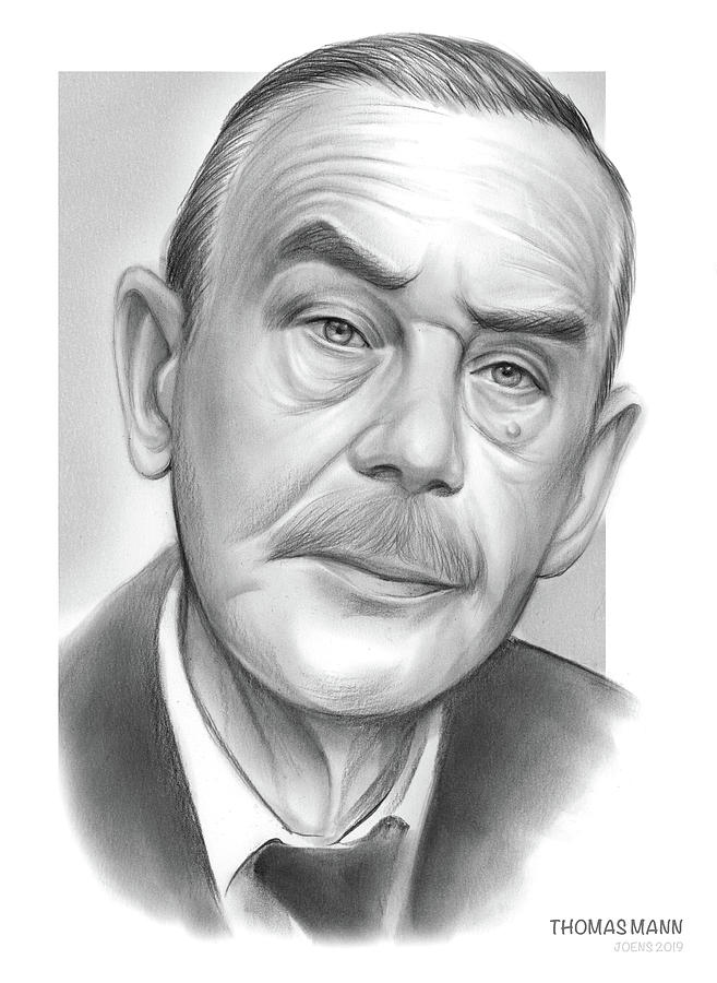 Thomas Mann Drawing