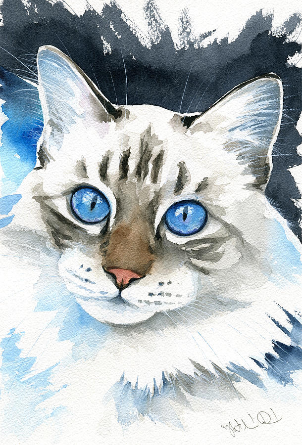 Those Blue Eyes by Dora Hathazi Mendes