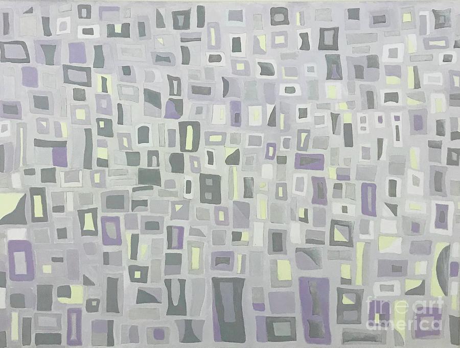 Thoughts purple  by Hila Abada