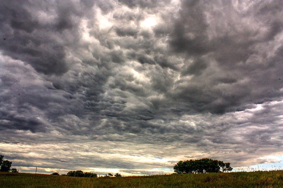 Threatening to rain by David Matthews