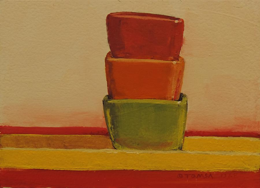 Three Bowls by Bill Tomsa