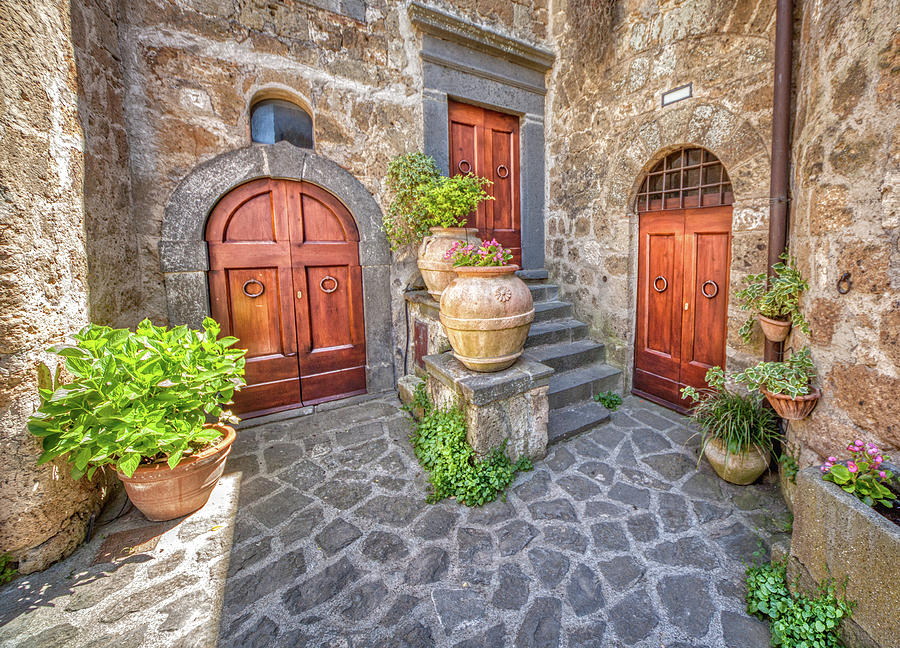 Three Doors of Tuscany by David Letts