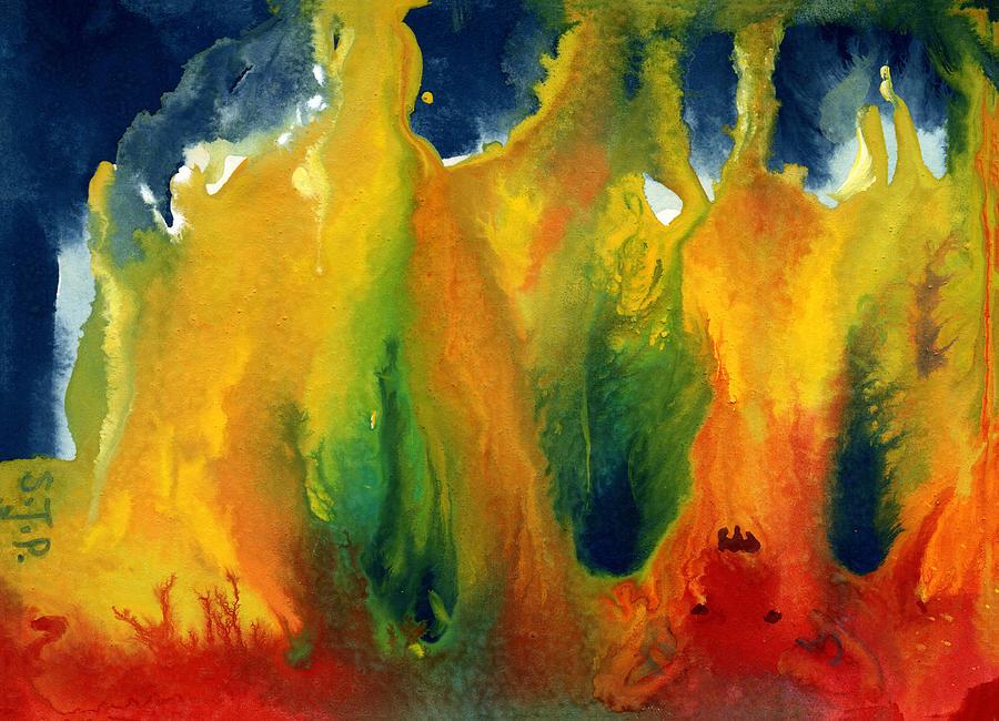 Three Figures in the Fire by Sheri Jo Posselt