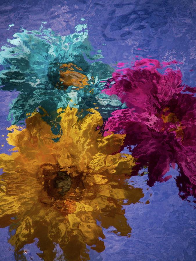 Three Flowers by Stewart Helberg