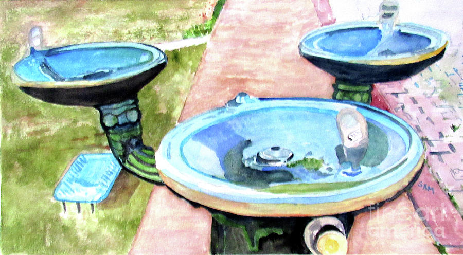 Three Fountains by Sandy McIntire