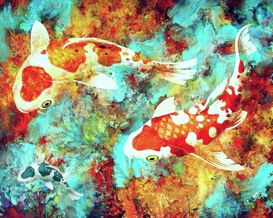 KOI Dream World by Sandra Selle Rodriguez