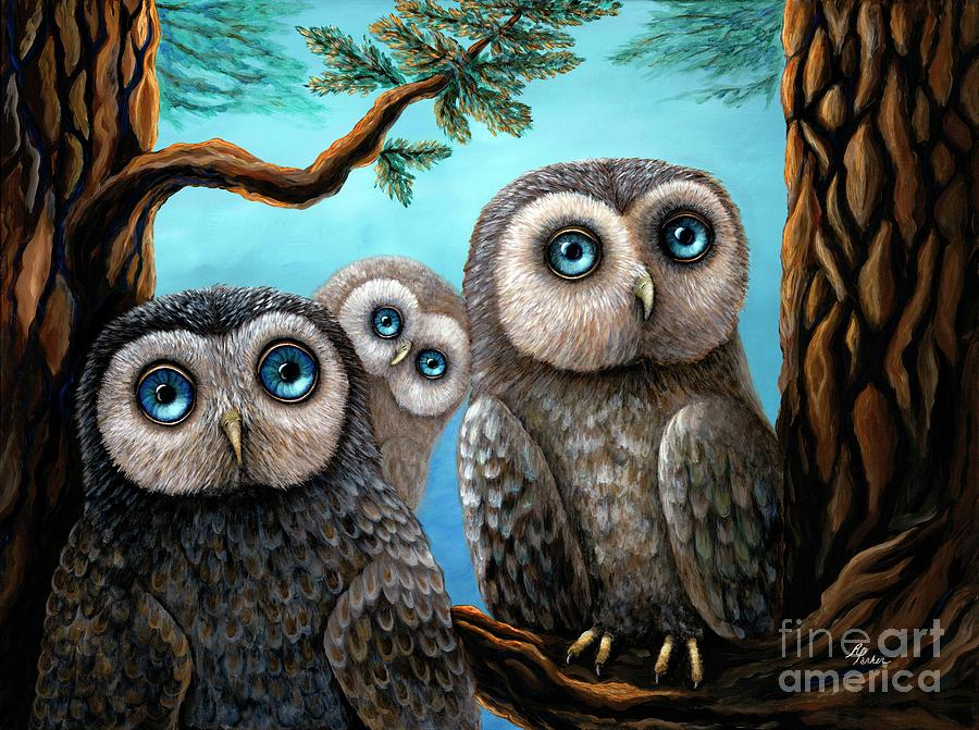 Three Little Hoots by Rebecca Parker