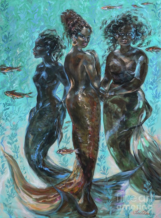 Three Muses by Linda Olsen