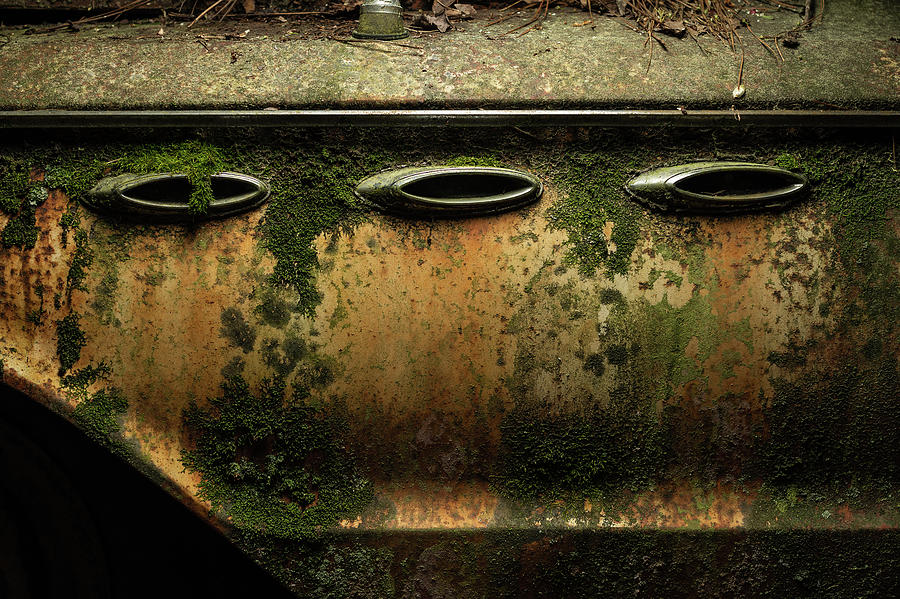 Rust Photograph - Three Of A Kind by 8th Mile Photography