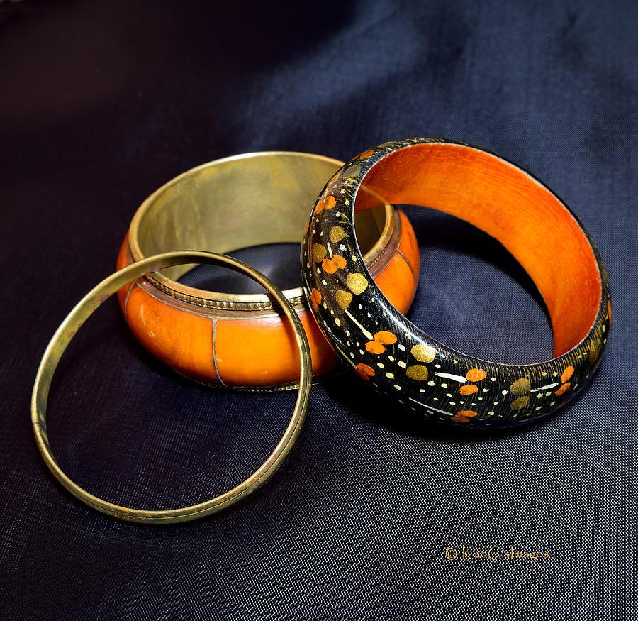 Three Old Bracelets by Kae Cheatham