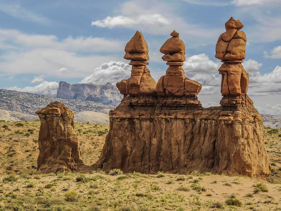 Three Sisters Hoodoos Goblin Valley State Park by NaturesPix