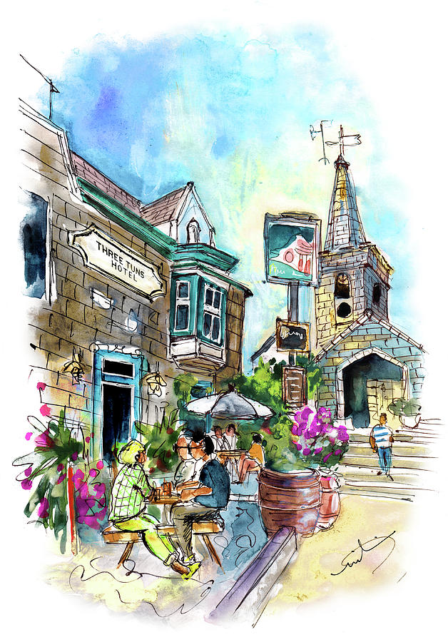 Three Tuns Hotel In Helston by Miki De Goodaboom