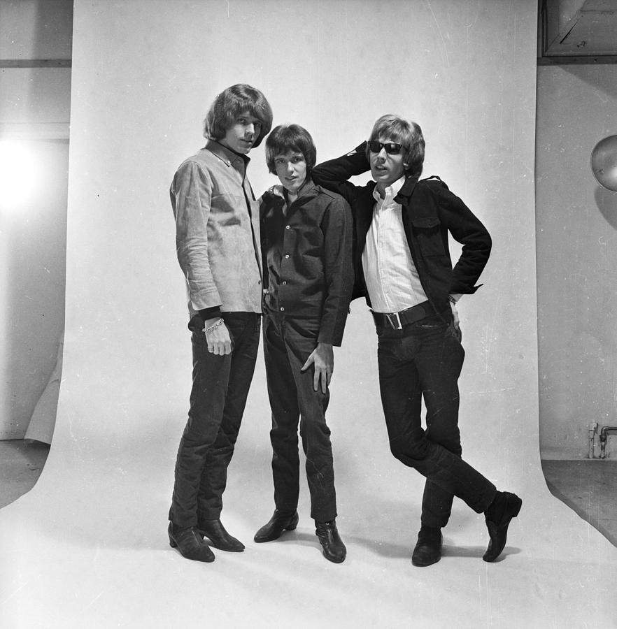 Three Walkers Photograph by R. Mcphedran