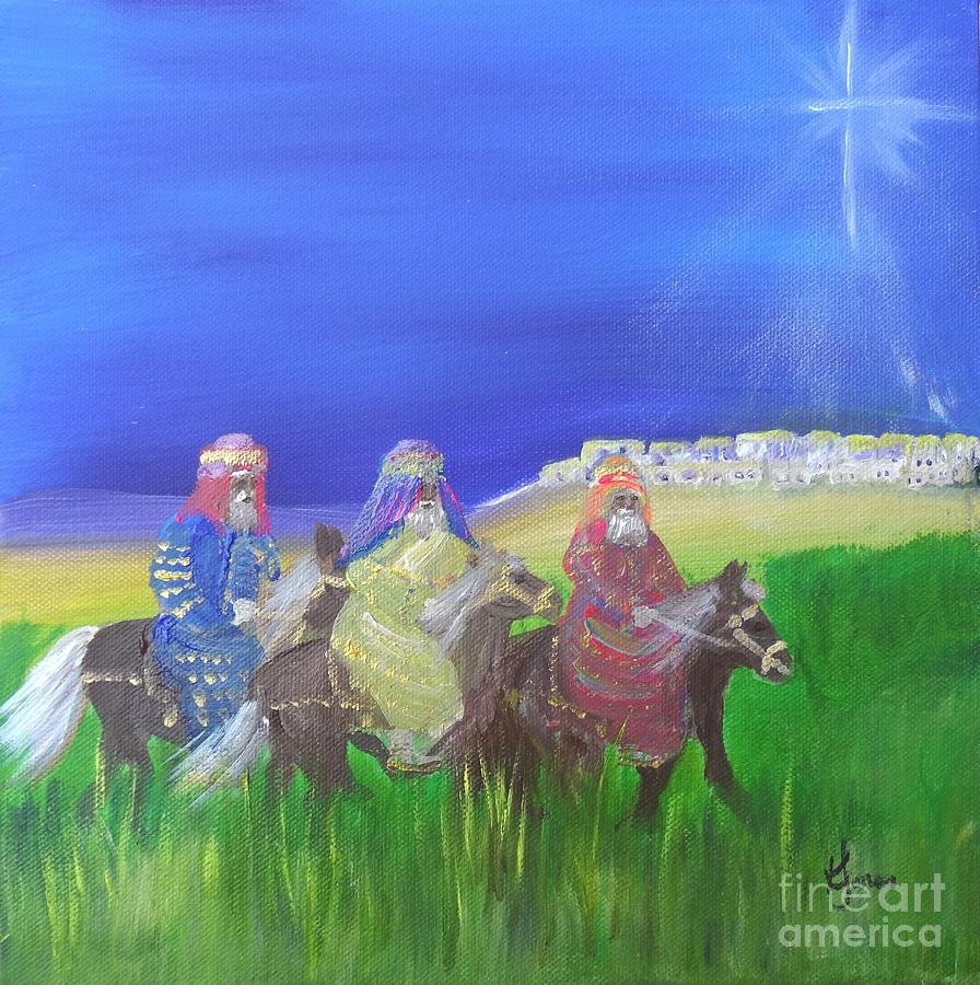 Three Wise Men by Karen Jane Jones