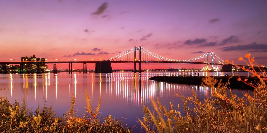 Throgs Neck Bridge Sunset by John Randazzo