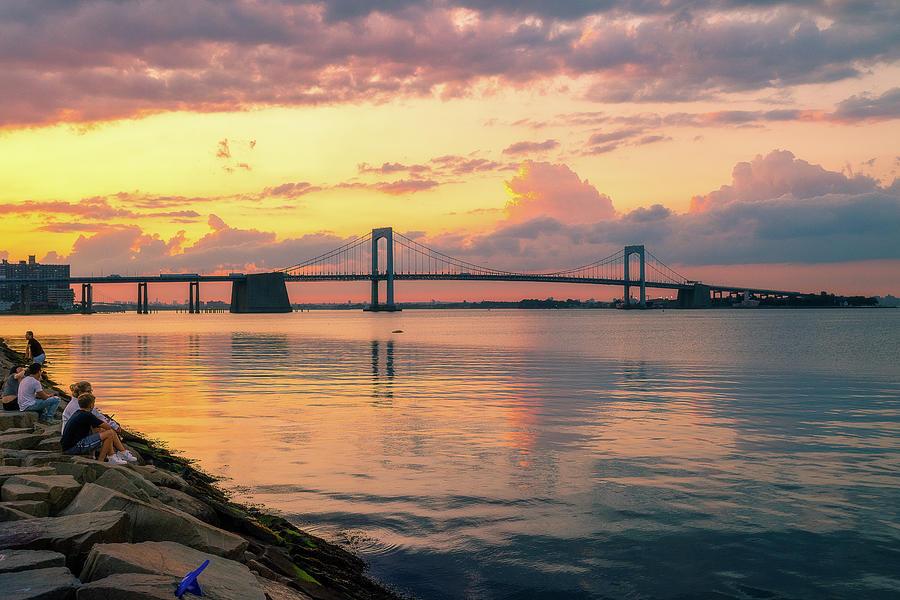 Throgs Neck Bridge View by John Randazzo
