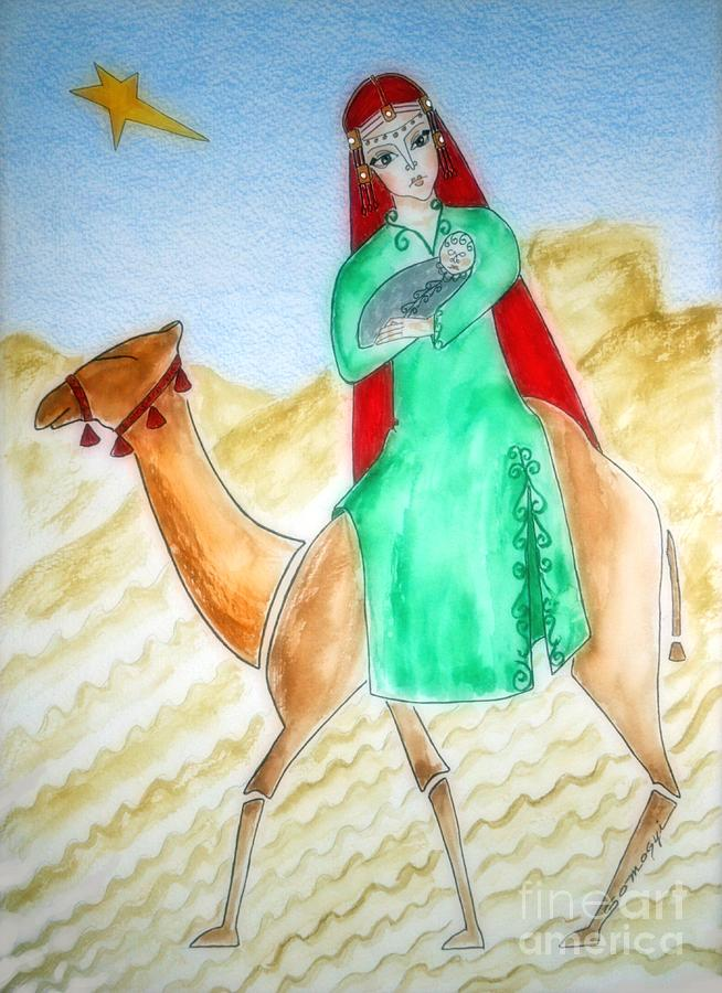 Through the Desert to Nazareth by Jayne Somogy