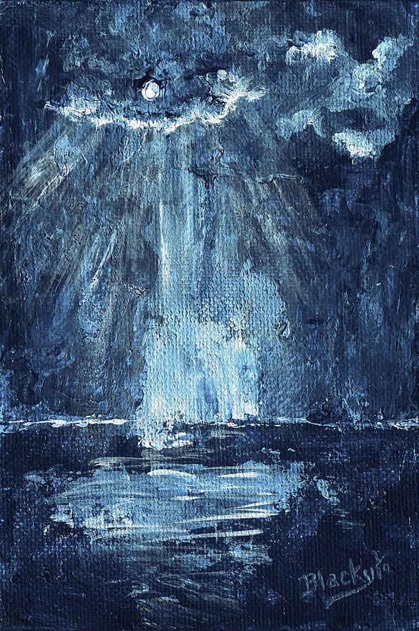Through The Storm Painting