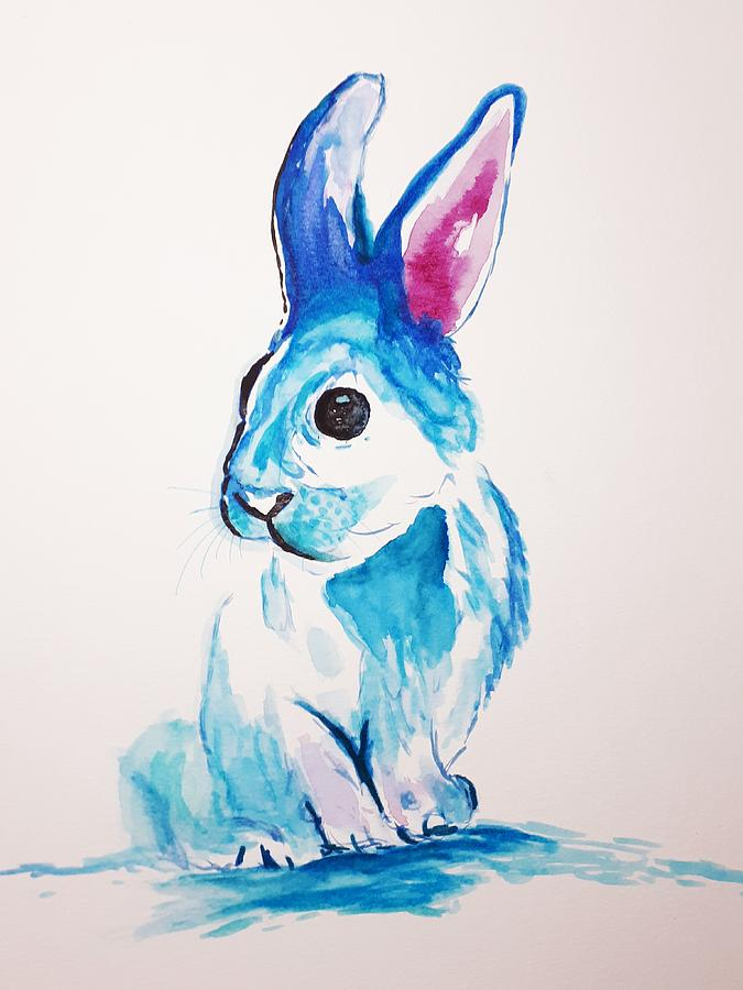 Thumper by Abstract Angel Artist Stephen K