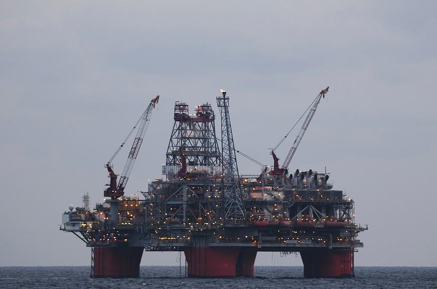 Thunderhorse PDQ oil platform by Bradford Martin