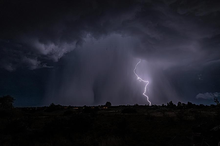 Thunderstorm #5 by Lou Novick