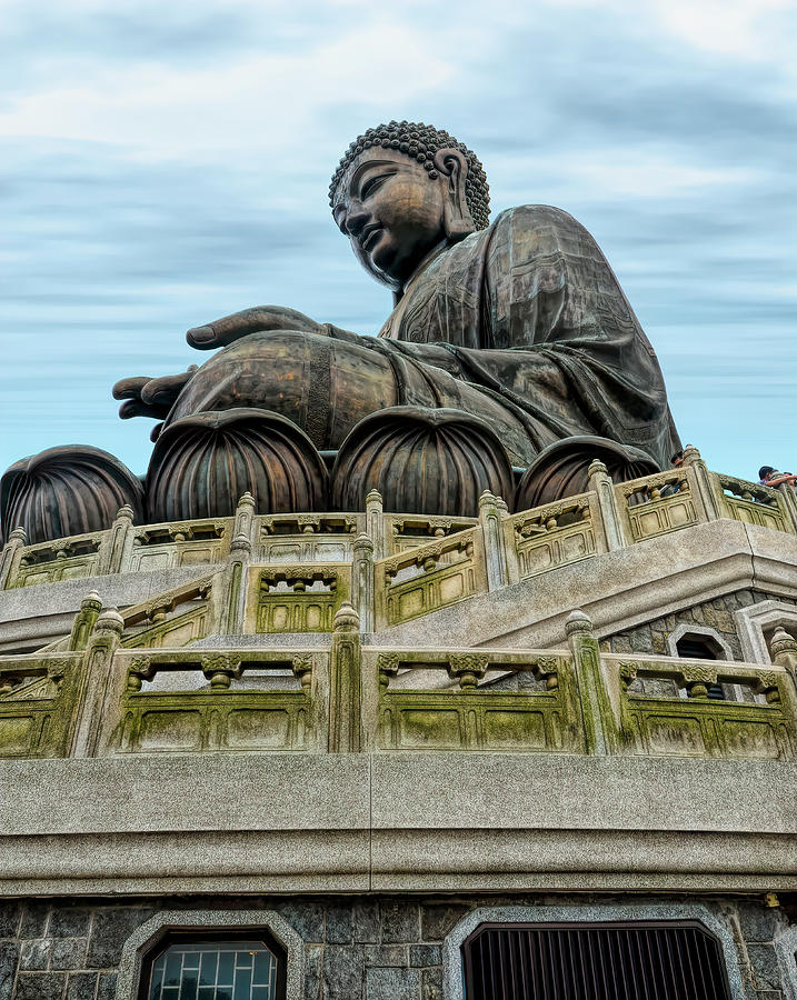 Tian Tan Buddha by PAUL COCO