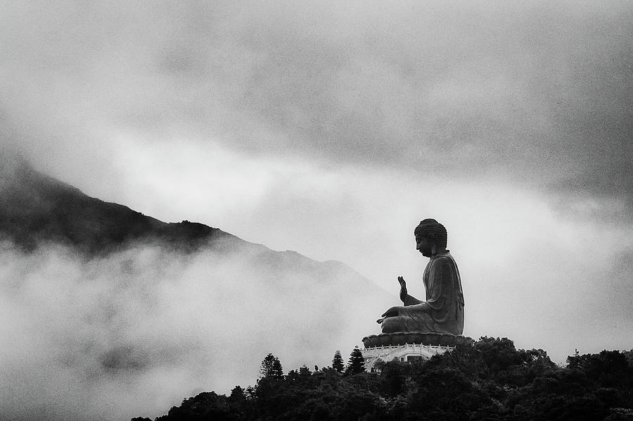 Tian Tan Buddha Photograph by Picture By Chris Kench Photography