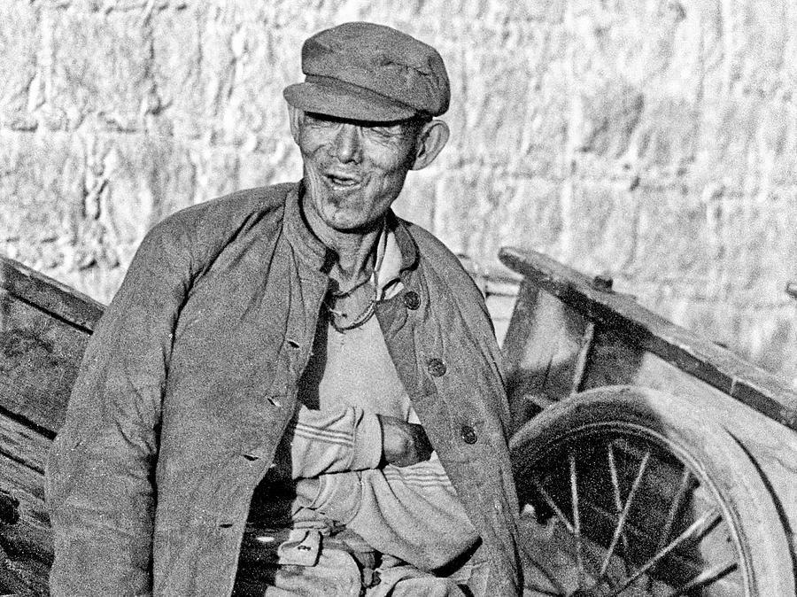Tibetan peasant by Neil Pankler