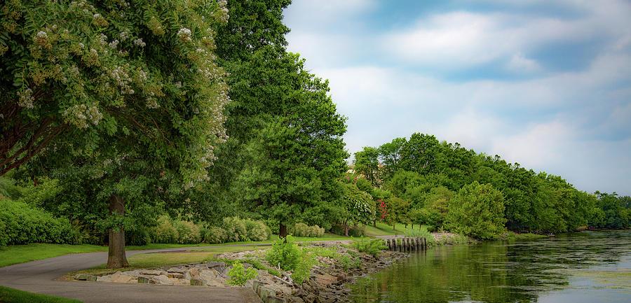 Tide Lock Park Trail by Lora J Wilson