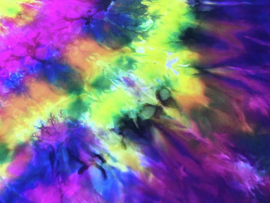 Tie Dye by Anne Thurston