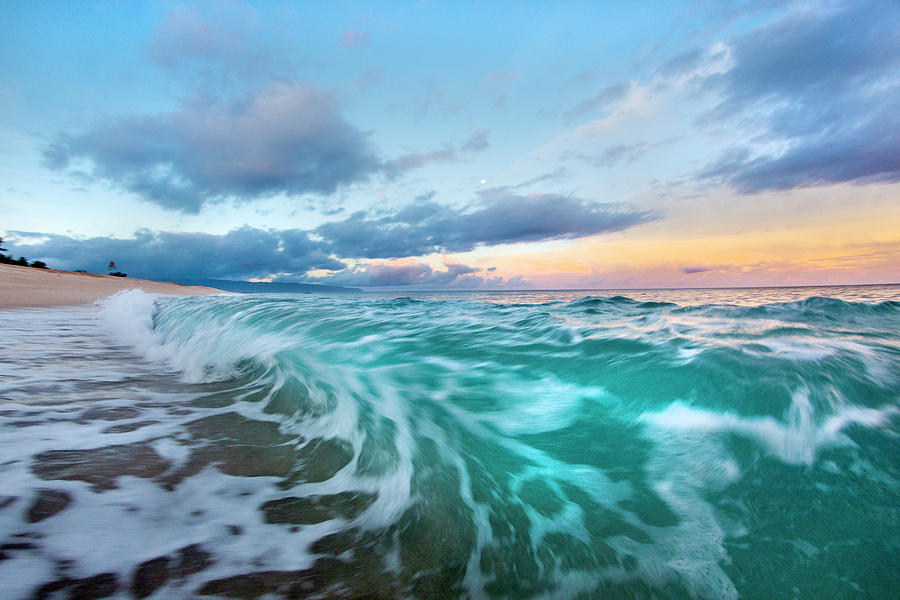 Tie-dyed Tide by Sean Davey
