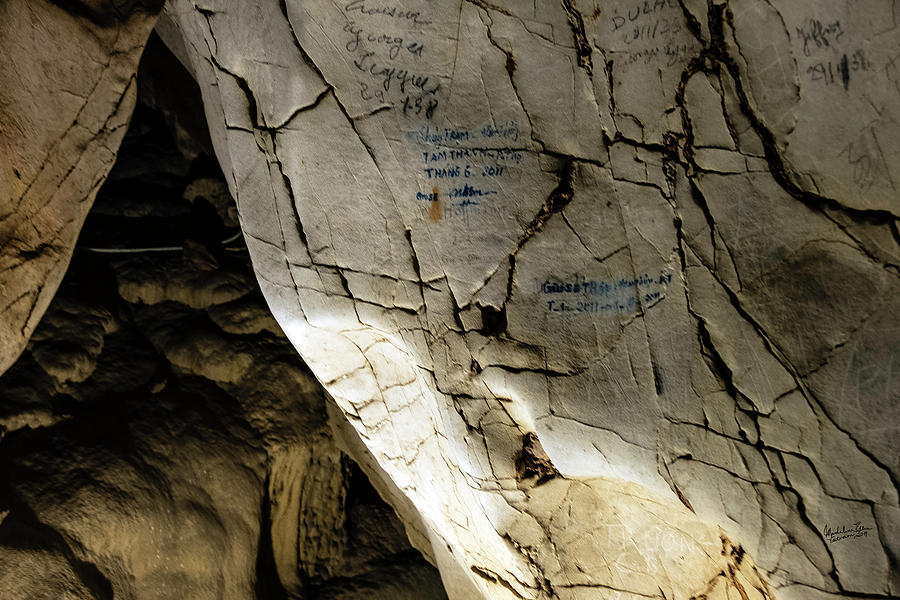 Northern Vietnam Photograph - Tien Ong Cave - Halong Bay, Vietnam by Madeline Ellis