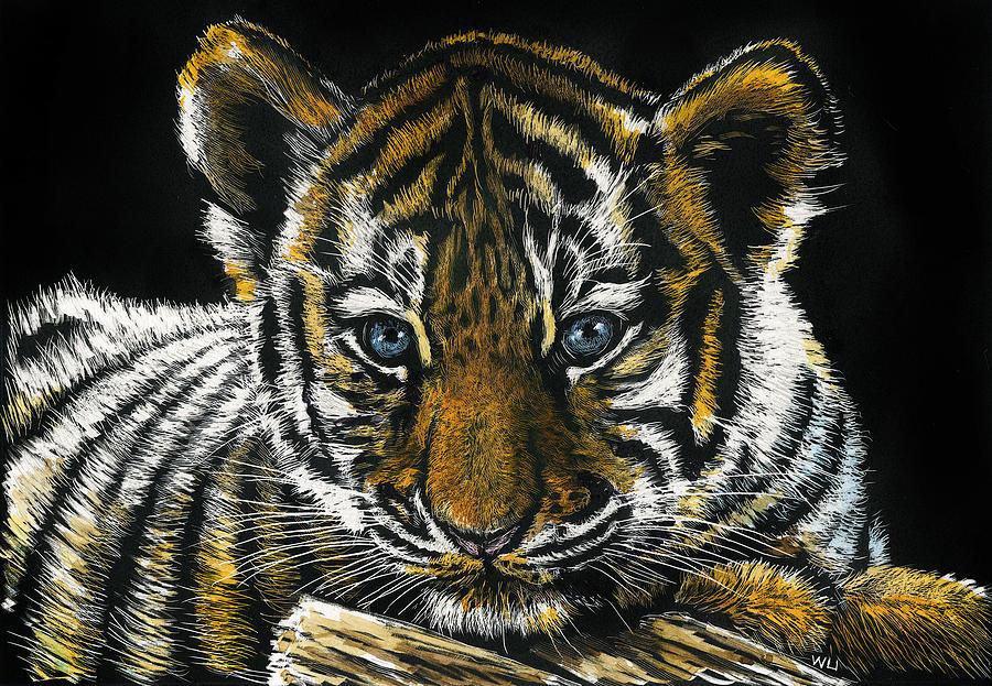 Tiger Cub by William Underwood